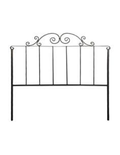 Cabecero Tapizado Tarana Burke, Alto (115 cm), Grosor (12 cm) Tela Nido Anti-Manchas