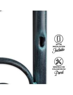 Cabecero Tapizado Kate Millett, Alto (115 cm), Grosor (12 cm) Tela Nido Anti-Manchas
